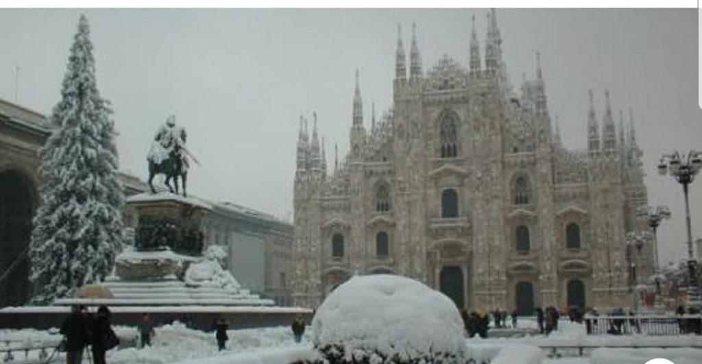 Meteo, prevista neve in tutta Italia per Natale e Capodanno
