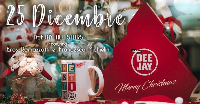 """""""25 dicembre"""", la canzone di Natale di Radio Deejay: guarda il video"""