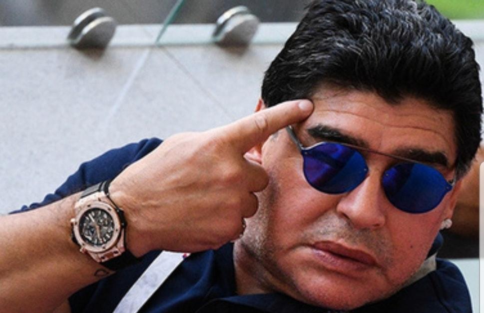Maradona scomparso, «nessuna notizia di lui da giorni». E domani inizia il campionato
