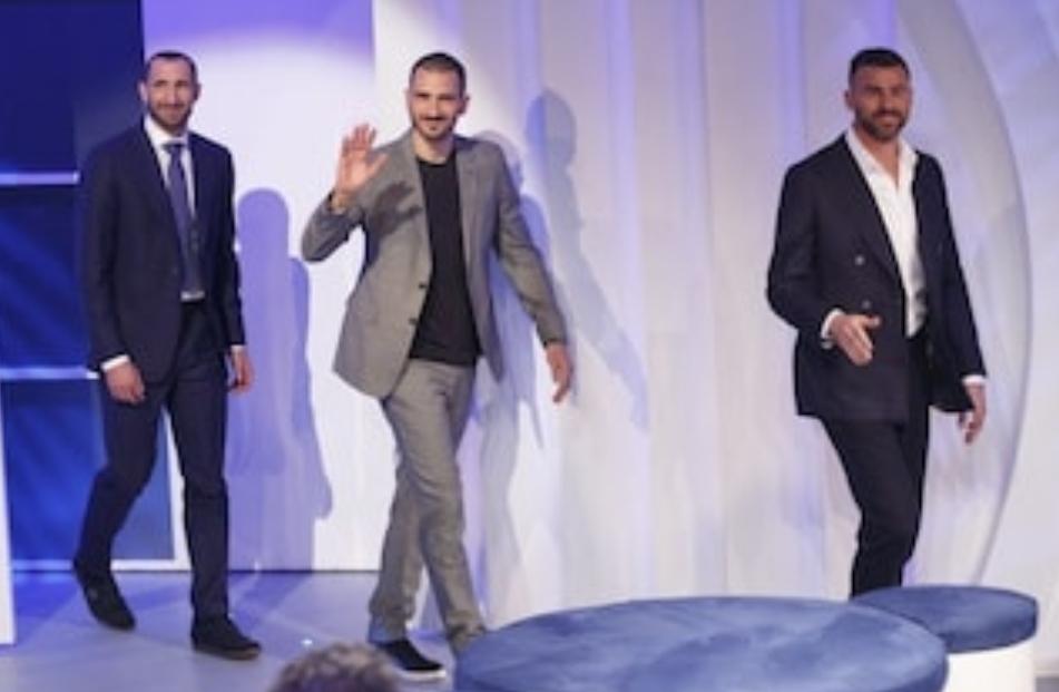 Barzagli, Chiellini e Bonucci commosi per la storia di Nino, vedovo eroe