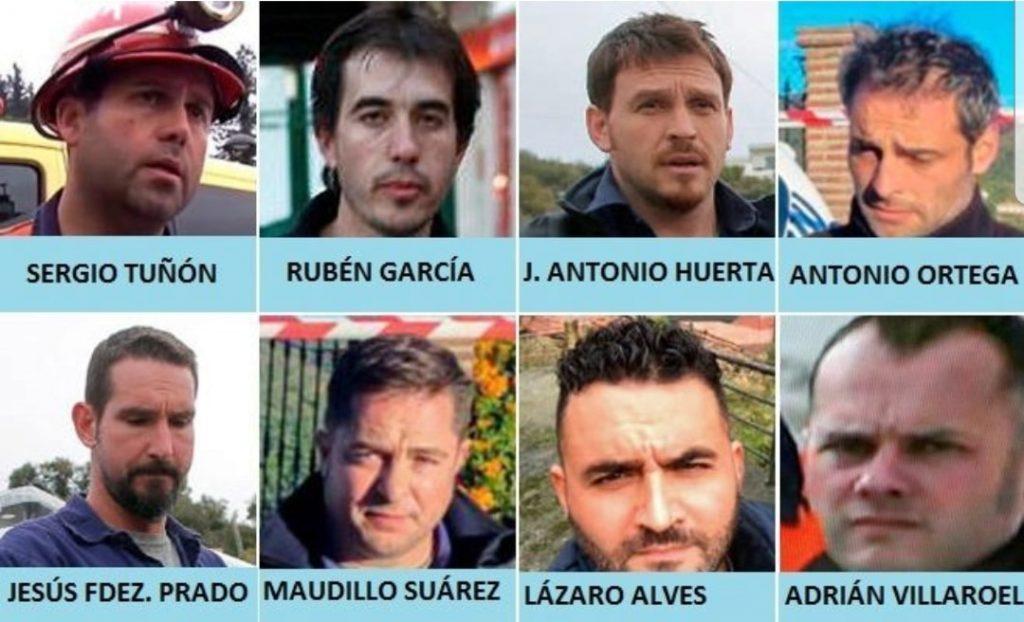 Questi sono gli otto minatori che lavorano contro il tempo per salvare Julen dal pozzo