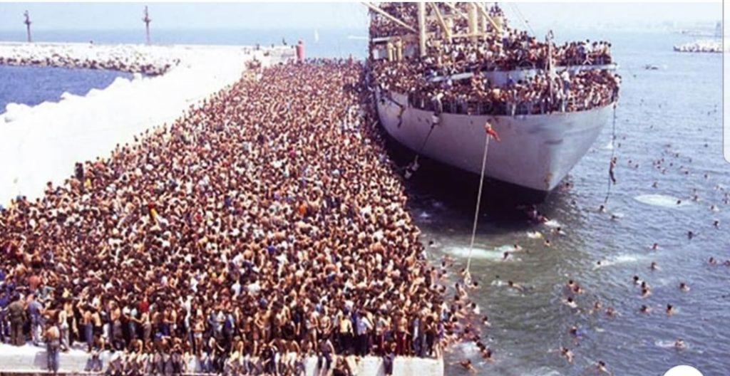 Salvini dimentica un porto socchiuso: sbarcati 800.000 migranti