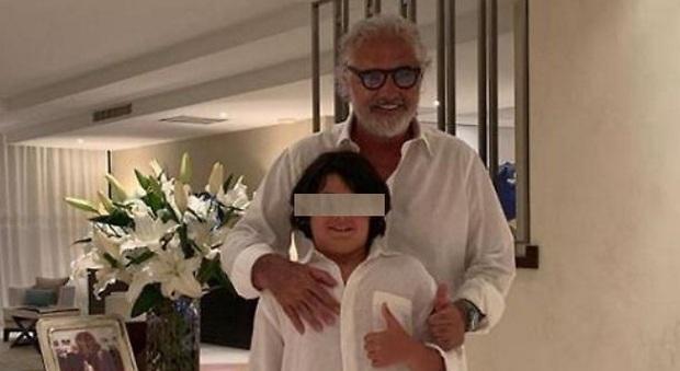 Flavio Briatore, insulti al figlio Nathan Falco: «È un ciccione». E lui risponde agli haters