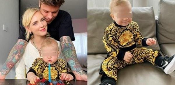 Leone, figlio di Chiara Ferragni e Fedez festeggia 10 mesi con un look esagerato, ecco quanto costa
