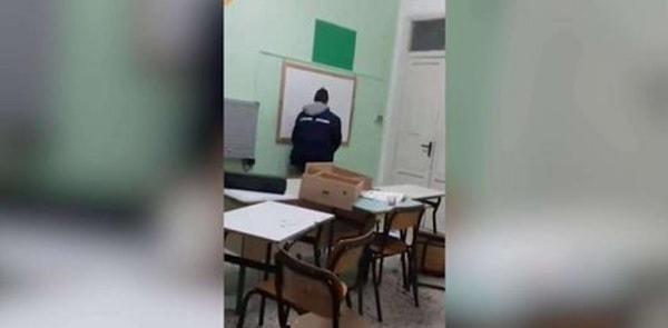 Studenti fanno danni a scuola per 20mila euro: si vantano e fanno la pipì sul muro – Video