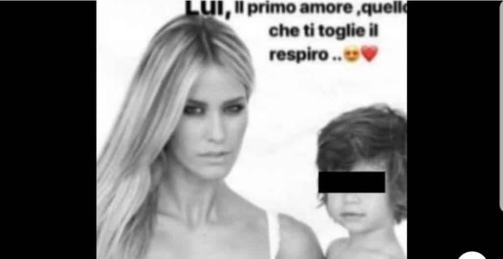Elena Santarelli, la foto con il figlio Giacomo malato: «Lui, quello che ti toglie il respiro»