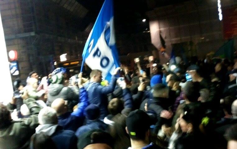 A Napoli sembra Capodanno: una città in festa dopo la vittoria dell' ajax sulla Juve