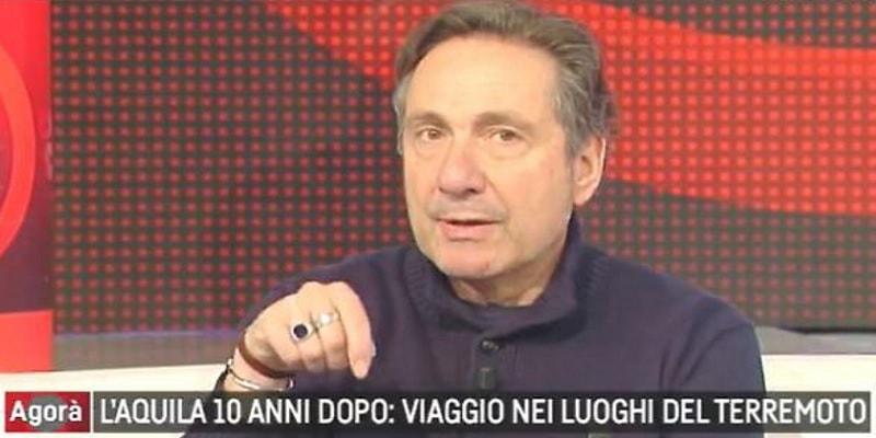 """Mario Tozzi ad Agorà: """"Italia, dove colpirà il prossimo terremoto e con quale intensità"""""""