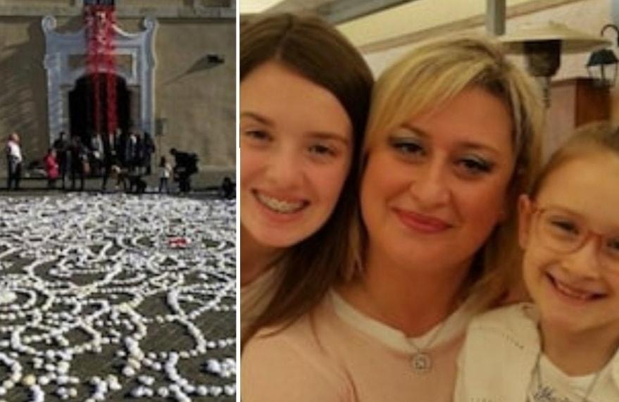 Alessia e Martina uccise dal padre: diecimila rose bianche diventano 8 borse di studio