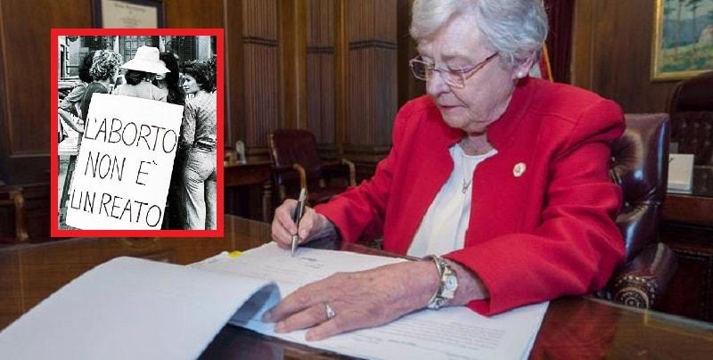 Alabama, aborto vietato anche in caso di stupro: firmata la legge