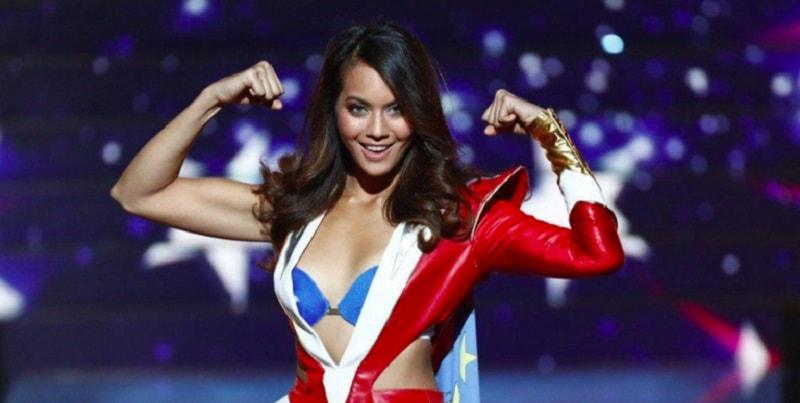 """Miss Francia risponde alle critiche: """"Mi piace mangiare. Fatevene una ragione"""""""