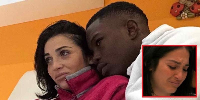 GF 16, Serena Rutelli scoppia a piangere per il fidanzato