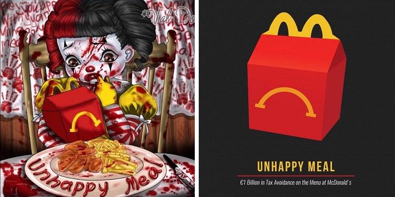 """Burger King lancia 'Unhappy Meal': """"Perché non si può sempre essere felici"""""""