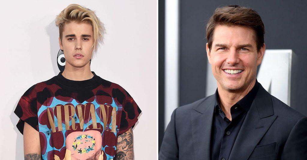 Justin Bieber sfida in un incontro di Oktagon Tom Cruise