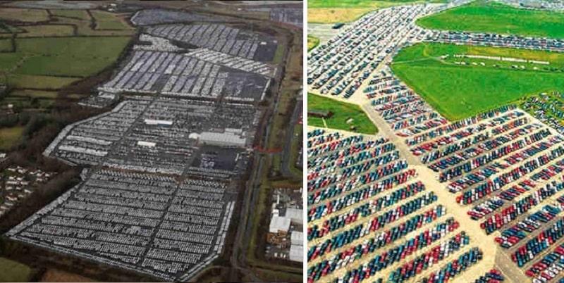 Le auto non vendute che fine fanno? Il cimitero delle auto invendute (Galleria Fotografica)