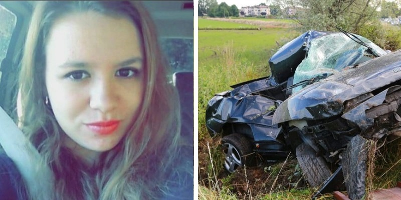 19enne muore in un incidente stradale per aver inviato un messaggio al suo ragazzo