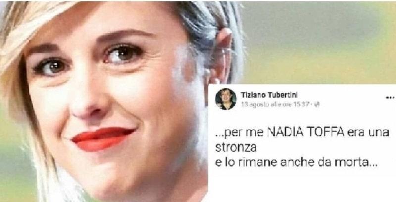 """Nadia Toffa, """"Per me Nadia Toffa era una stron**. E lo rimane anche da morta"""": il post vergogna poi rimosso"""