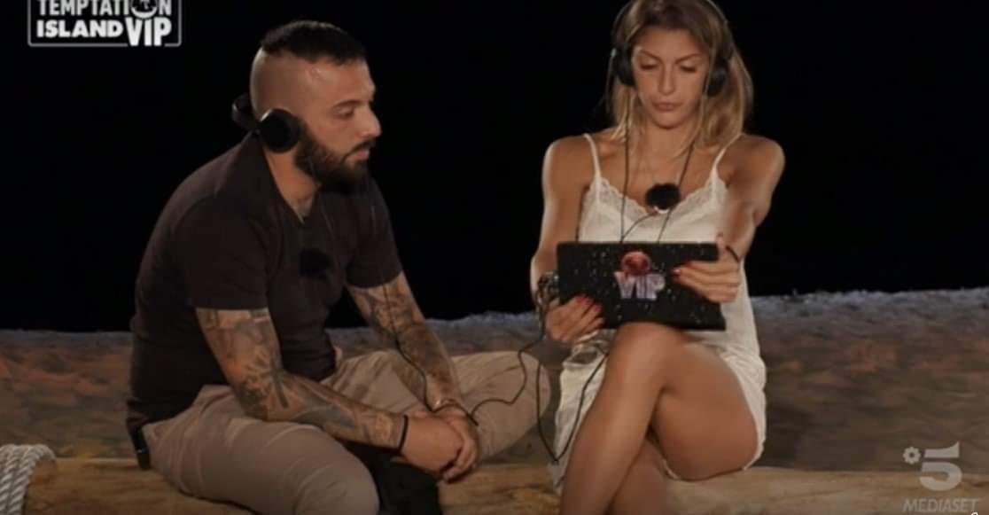 Damiano Er Faina, falò di confronto con Sharon Macrì: la reazione inaspettata di lei