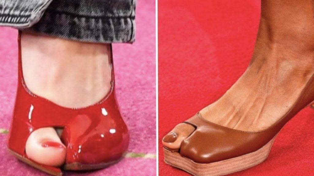 """Le scarpe """"alluci"""" sono l'ultima tendenza delle calzature"""