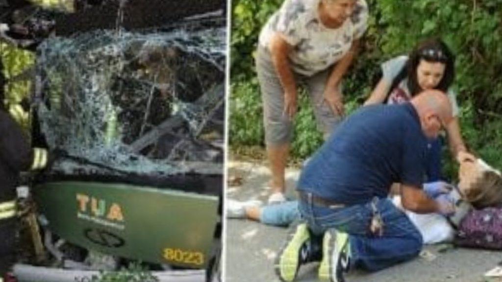 Pescara, bus si schianta contro albero: amputata gamba della 17enne ferita nel terribile incidente