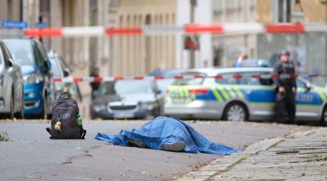 """Germania, sparatoria davanti la sinagoga e bomba nel cimitero, Diversi morti: la polizia """" RESTATE IN CASA"""""""