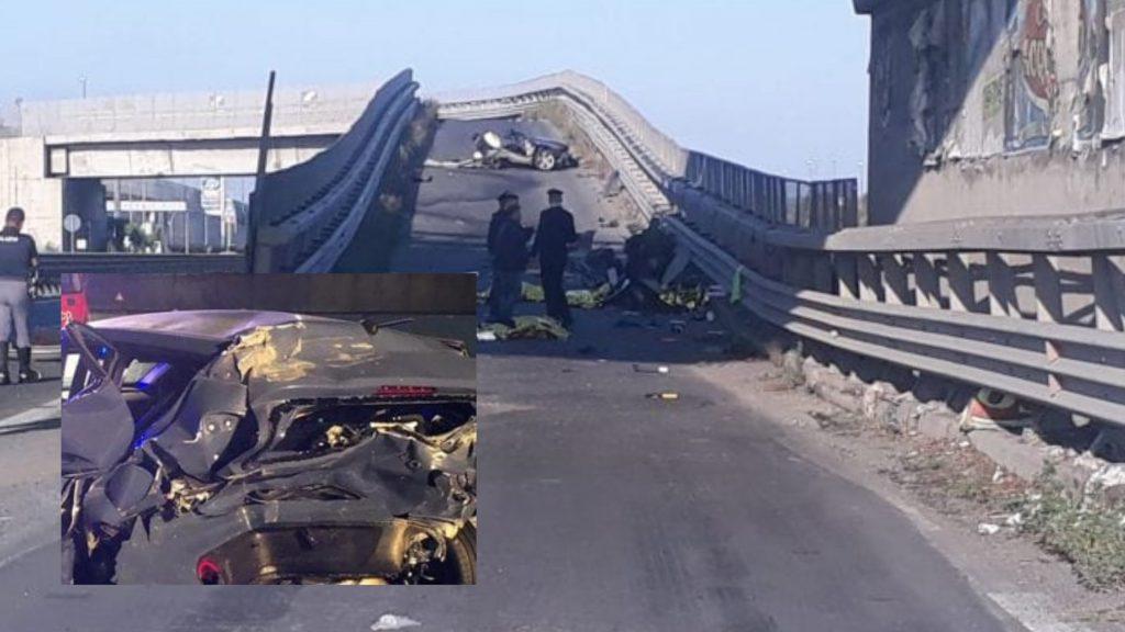 Incidente, auto contro spartitraffico: morti 4 giovani, i cadaveri trovati sull'asfalto