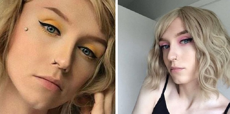 Invia la foto del pene a una ragazza in chat ma lei è trans e gli rimanda il suo