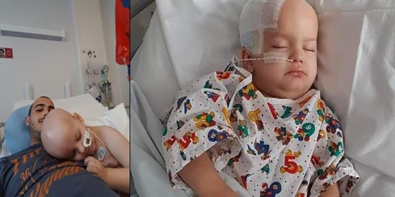«E' solo un pò di febbre, vada pure a casa» Bimbo di 3 anni muore per un tumore al cervello
