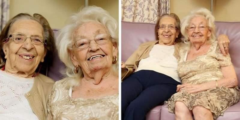 Da 78 anni sono migliori amiche. Decidono di transferirsi nella stessa casa di cura per stare insieme