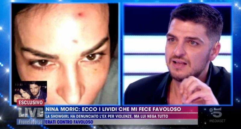 Nina Moric denuncia Favoloso: ecco cosa mi faceva e mostra l