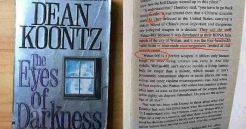 """Coronavirus, la """"profezia"""" di Dean Koontz nel suo romanzo del 1981: """"Nel 2020 si diffonderà in tutto il mondo Wuhan-400, una grave polmonite"""""""