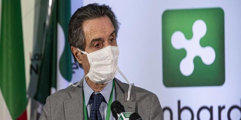 """Coronavirus, Fontana fa un triste annuncio: """"Sono preoccupato per i numeri di oggi"""""""