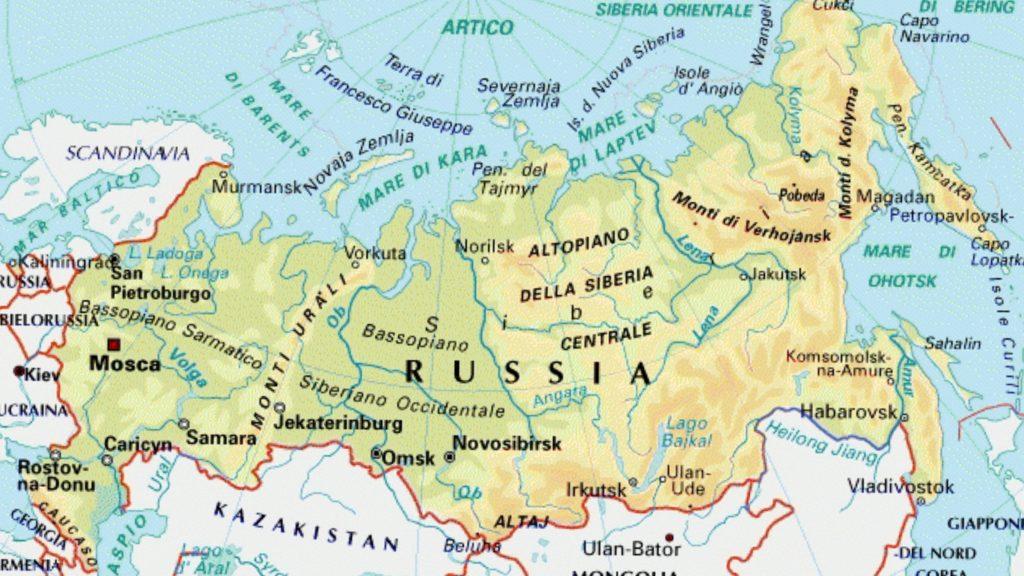 Trema la Russia: scossa di Terremoto magnitudo 7.2