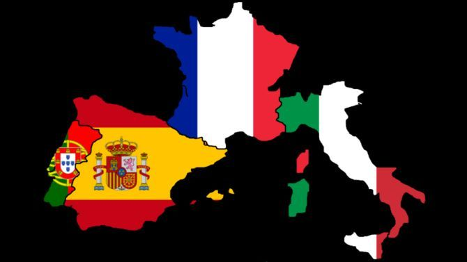 Francia e Portogallo con Italia e Spagna: l'EUROPA PIÙ BELLA