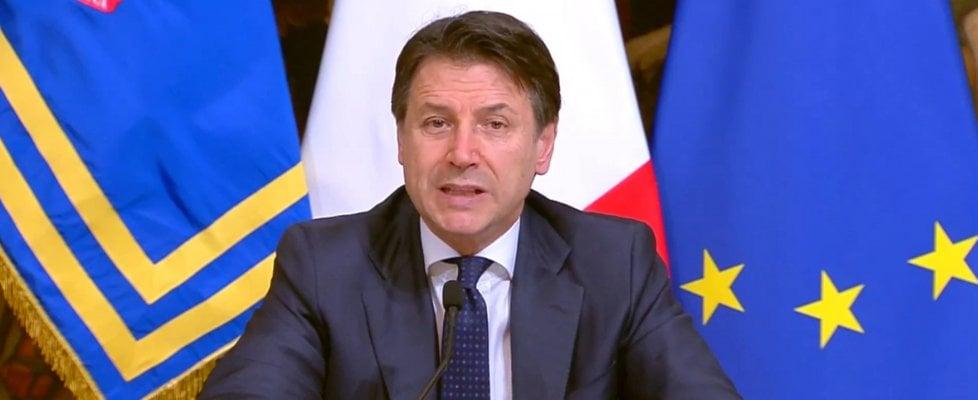 Il premier Conte torna a parlare agli italiani