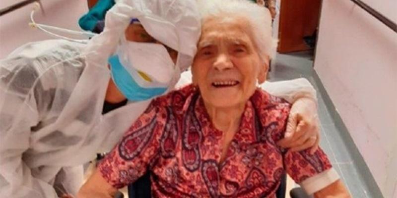"""Storia a """"lieto fine"""" di Ada che a 104 anni ha sconfitto il"""