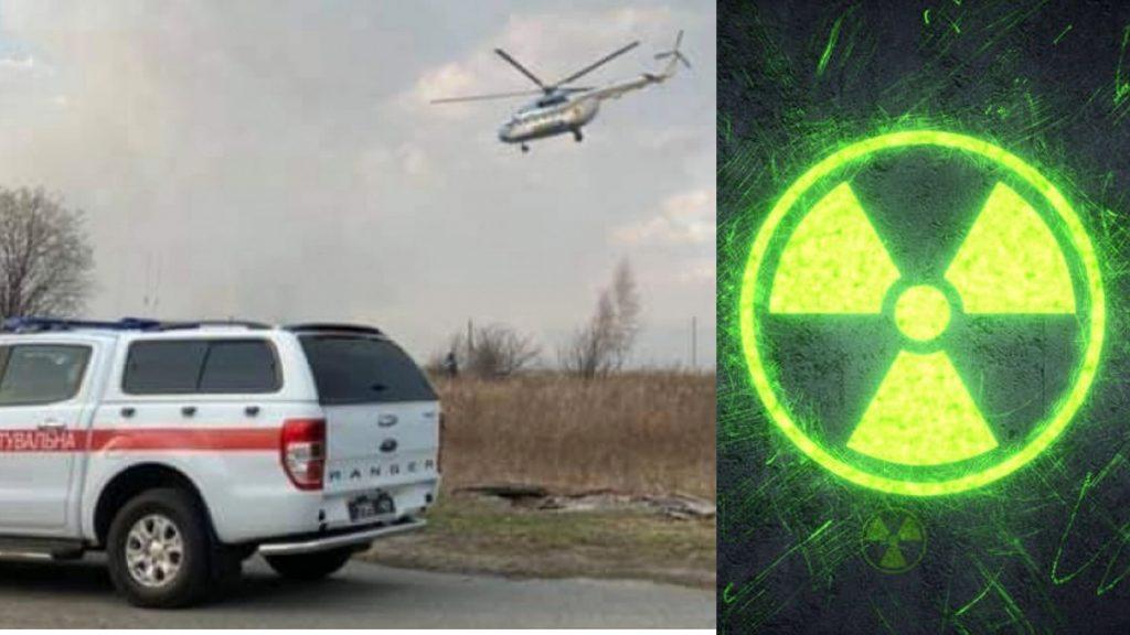 Scoppia un incendio nei boschi di Chernobyl, alta preoccupaz