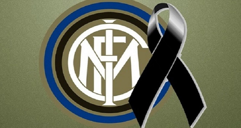 Grave lutto all'Inter, mondo del calcio sotto choc