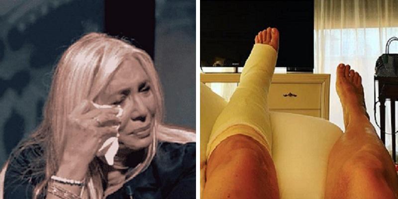 Mara Venier, dopo il brutto incidente arriva l'esito della r