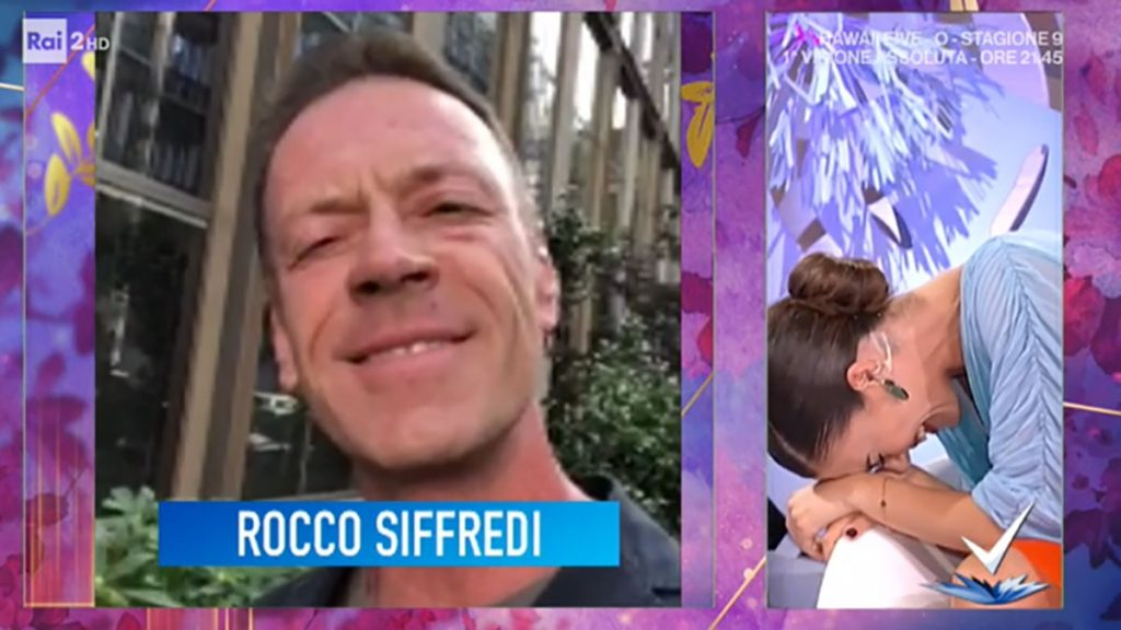 """Rocco Siffredi e la proposta """"indecente"""" in diretta a Bianca Guacero  La risposta secca della conduttrice"""