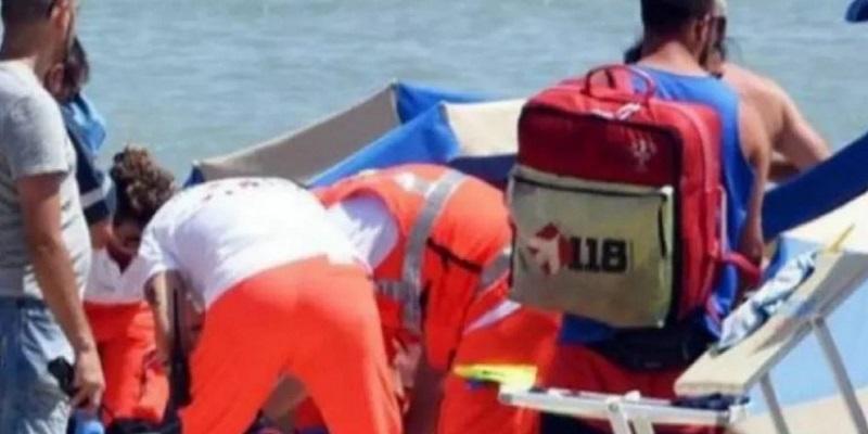 Italia |  esplosione in spiaggia tra i bagnanti |  ci sono feriti gravi