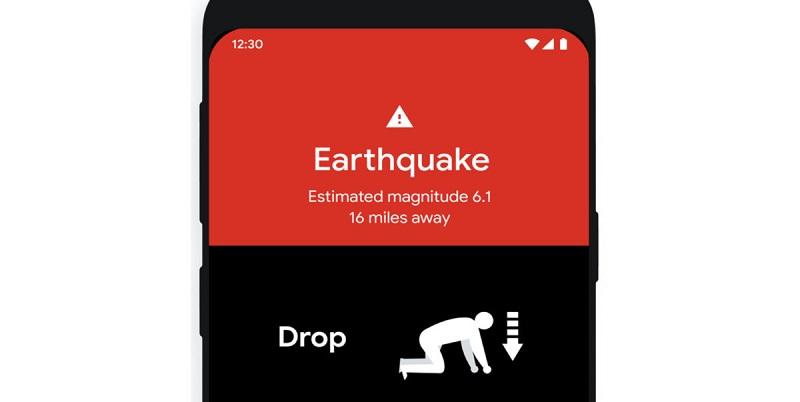 Google lancia l'App che ti avvisa se sta per arrivare un terremoto