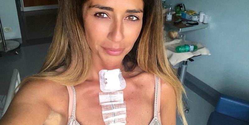 Uomini e Donne, mostra la ferita dopo l'operazione: il suo appello