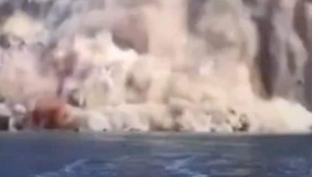 DEVASTANTE CROLLO IN ITALIA, ARRIVANO LE PRIME IMMAGINI DEL DISASTRO