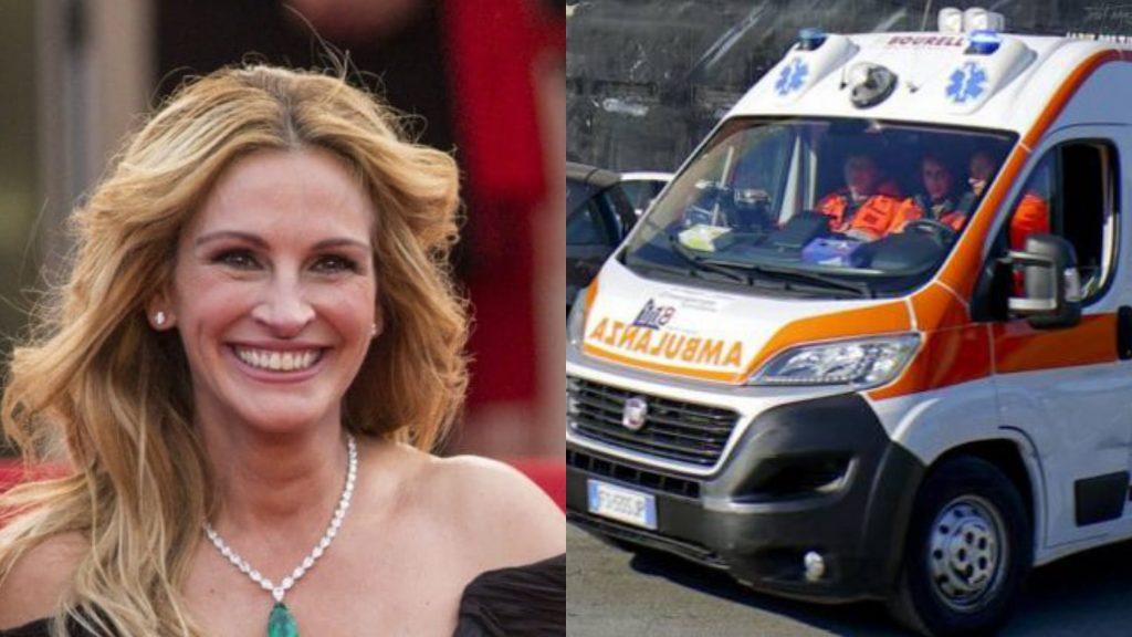 """""""Julia Roberts"""", ubriaca al pronto soccorso: viene ricoverata in psichiatria"""