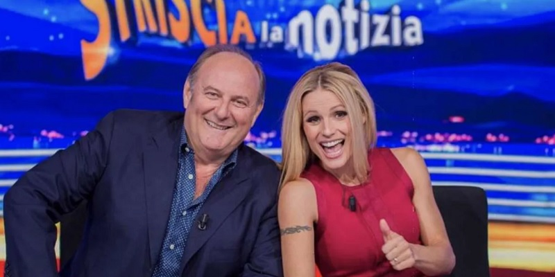 Striscia La Notizia, fuori Gerry Scotti e Michelle Hunziker: ecco chi li sostituisce