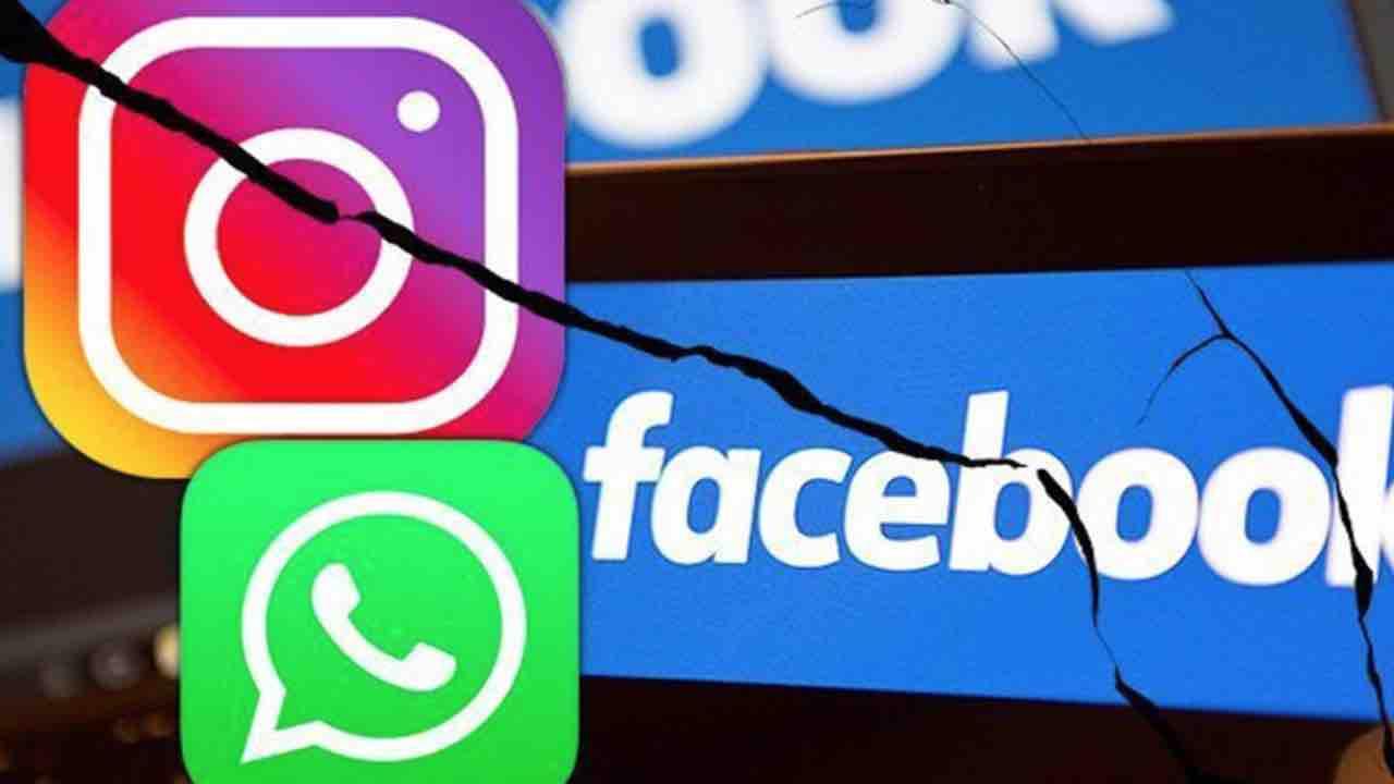 Facebook, Instagram e WhatsApp down: ecco cosa sta succedendo