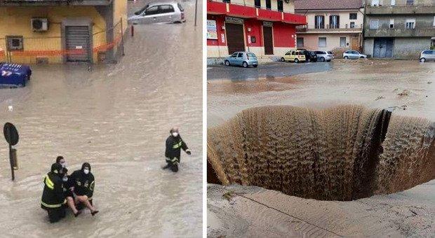 """Devastante nubifragio in Italia, soccorsi in atto. L'appello: """"Non uscite di casa"""""""