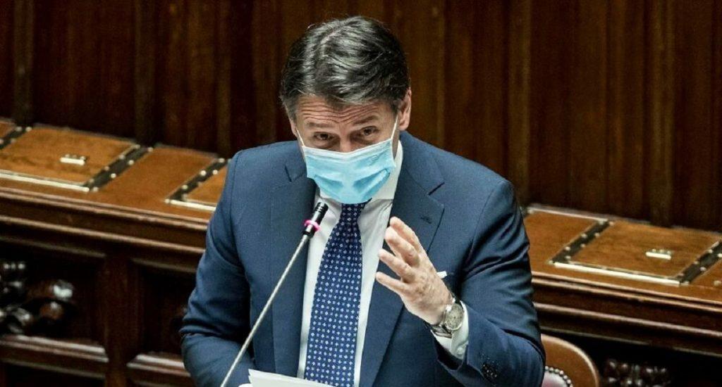 Il Presidente Giuseppe.Conte si dimette