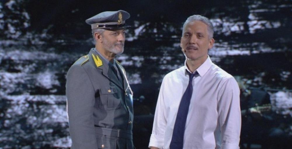 Beppe Fiorello, il momento drammatico e di pura commozione in diretta tv
